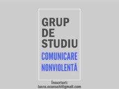 Înscrieri grup de studiu Comunicare Nonviolentă