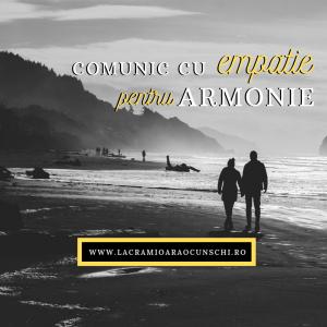 Comunic cu empatie pentru armonie