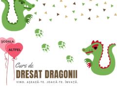 Curs de dresat dragonii în Scoala Altfel