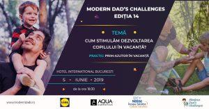Modern Dad's Challenges este un eveniment dedicat exclusiv taților și viitorilor tați.